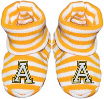 Appalachian State Mountaineers Striped Booties