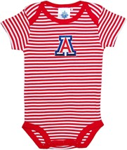 Arizona Wildcats Infant Striped Bodysuit