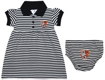 Bowling Green State Falcons Striped Game Day Dress with Bloomer