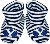BYU Cougars Striped Booties