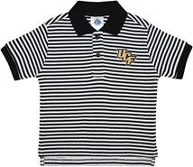 UCF Knights Striped Polo Shirt