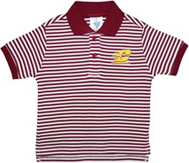 Central Michigan Chippewas Striped Polo Shirt