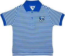 Creighton Bluejays Striped Polo Shirt