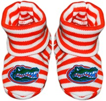 Florida Gators Striped Booties