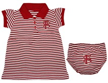 Florida State Seminoles Interlocking FS Striped Game Day Dress with Bloomer