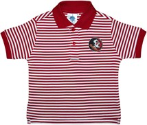 Florida State Seminoles Striped Polo Shirt