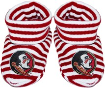 Florida State Seminoles Striped Booties