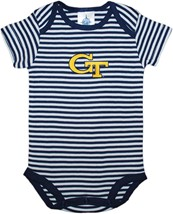 Georgia Tech Yellow Jackets Infant Striped Bodysuit