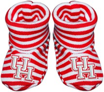 Houston Cougars Striped Booties