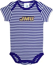 James Madison Dukes Infant Striped Bodysuit