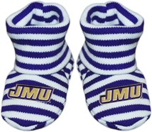 James Madison Dukes Striped Booties