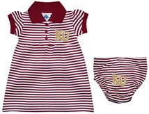 Kutztown Golden Bears Striped Game Day Dress with Bloomer