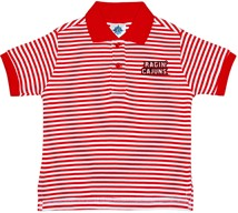 Louisiana-Lafayette Ragin Cajuns Striped Polo Shirt