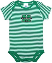 Marshall Thundering Herd Infant Striped Bodysuit
