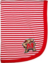 Maryland Terrapins Striped Baby Blanket