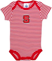 NC State Wolfpack Infant Striped Bodysuit