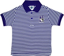 Northwestern Wildcats Striped Polo Shirt