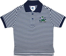 Notre Dame Fighting Irish Toddler Striped Polo Shirt
