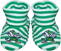 Notre Dame Fighting Irish Striped Booties