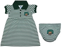 Ohio Bobcats Striped Game Day Dress with Bloomer