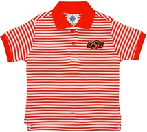 Oklahoma State Cowboys Striped Polo Shirt