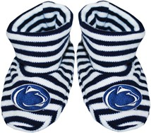 Penn State Nittany Lions Striped Booties
