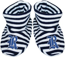 Rice Owls Striped Booties