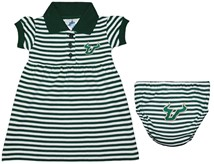 South Florida Bulls Striped Game Day Dress with Bloomer