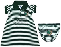 South Florida Bulls Shield Striped Game Day Dress with Bloomer