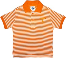 Tennessee Volunteers Striped Polo Shirt