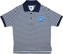 North Carolina Tar Heels Striped Polo Shirt