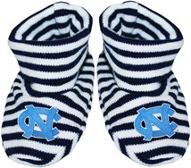 North Carolina Tar Heels Striped Booties