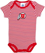Utah Utes Infant Striped Bodysuit