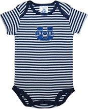 Utah State Aggies Newborn Infant Striped Bodysuit
