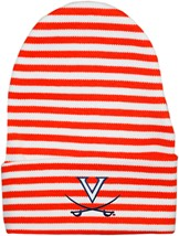 Virginia Cavaliers Newborn Baby Striped Knit Cap