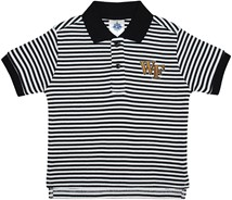 Wake Forest Demon Deacons Striped Polo Shirt