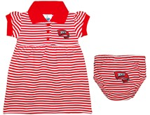 Western Kentucky Hilltoppers Striped Game Day Dress with Bloomer