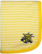 Wichita State Shockers Striped Baby Blanket