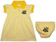 Wichita State Shockers Striped Game Day Dress with Bloomer