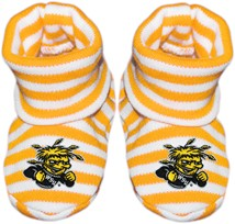 Wichita State Shockers Striped Booties