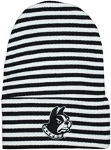 Wofford Terriers Newborn Baby Striped Knit Cap