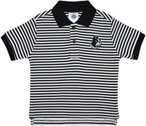 Wofford Terriers Striped Polo Shirt