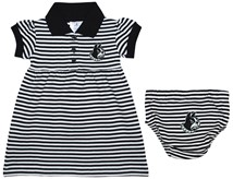 Wofford Terriers Striped Game Day Dress with Bloomer