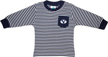 BYU Cougars Long Sleeve Striped Pocket Tee