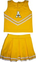 Appalachian State Mountaineers 2 Piece Toddler Cheerleader Dress