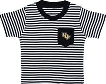 UCF Knights Short Sleeve Striped Pocket Tee