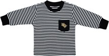UCF Knights Long Sleeve Striped Pocket Tee
