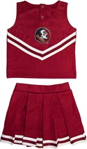 Florida State Seminoles 2 Piece Toddler Cheerleader Dress