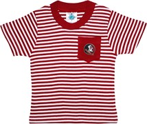 Florida State Seminoles Short Sleeve Striped Pocket Tee