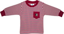 Florida State Seminoles Long Sleeve Striped Pocket Tee